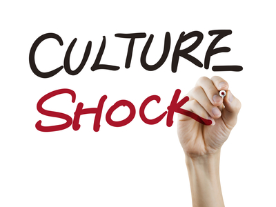 culture shock words written by hand
