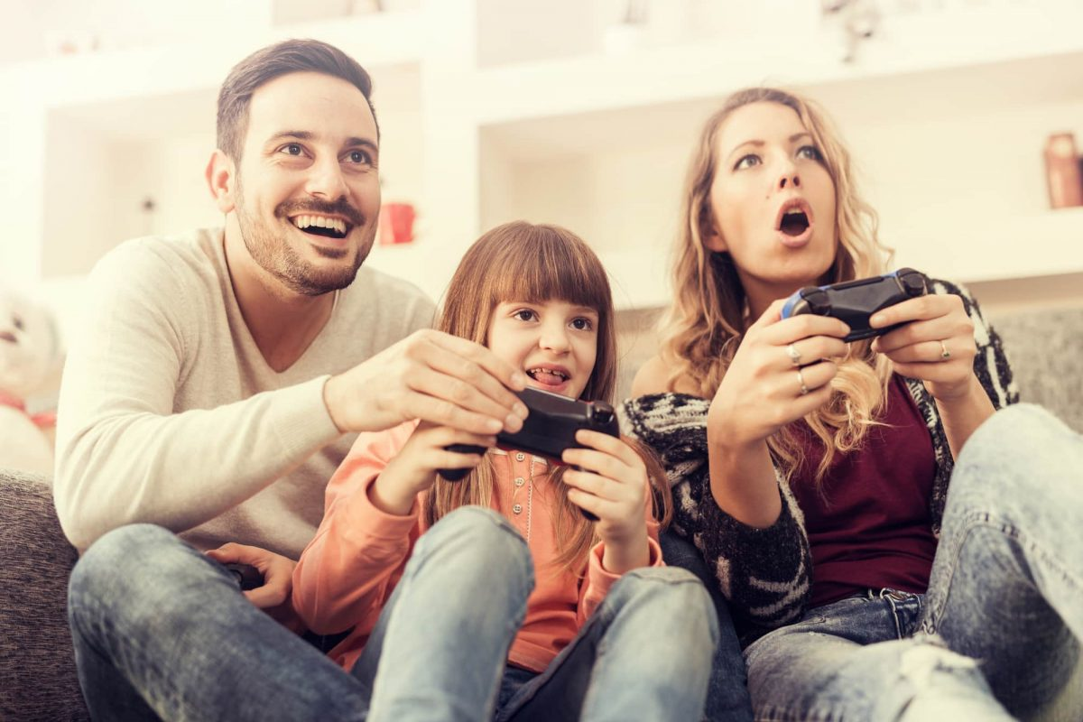 family-playing-video-games