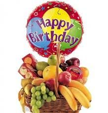 Birthday fruit baskets - a modern gift for your dearest one