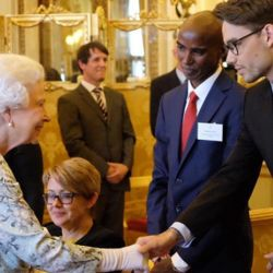 Liam Payne Visits the Queen